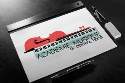 logo design Academie Musique