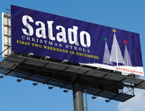 Outdoor Billboard Design – Salado Christmas